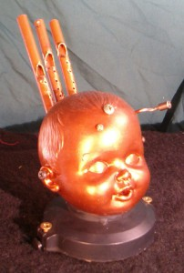 Baby head music box 1